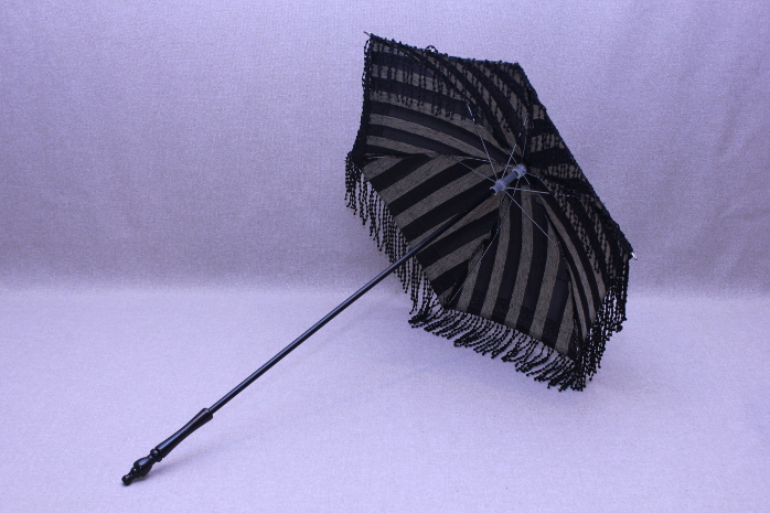 Parasol - Black/Tan Stripe